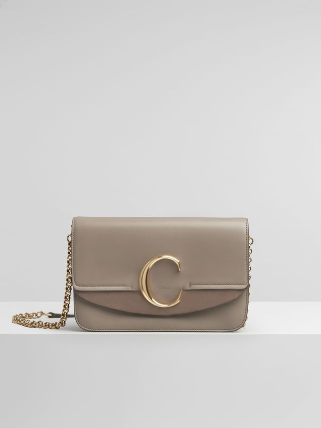 a804599e7f Chloé C clutch with chain #clutcheswithchain | Clutches and Evening ...