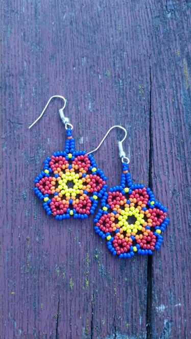 Huichol Lace earrings