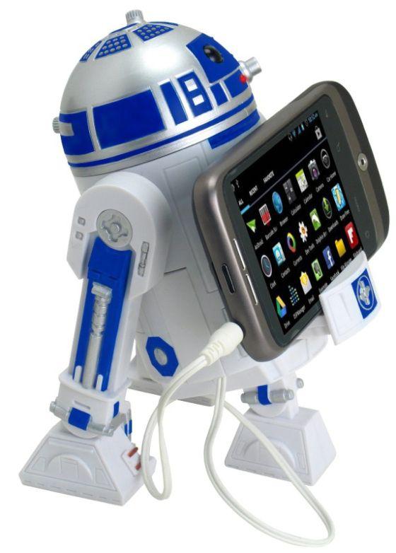 Star Wars Smart Phone Speaker Dock R2D2