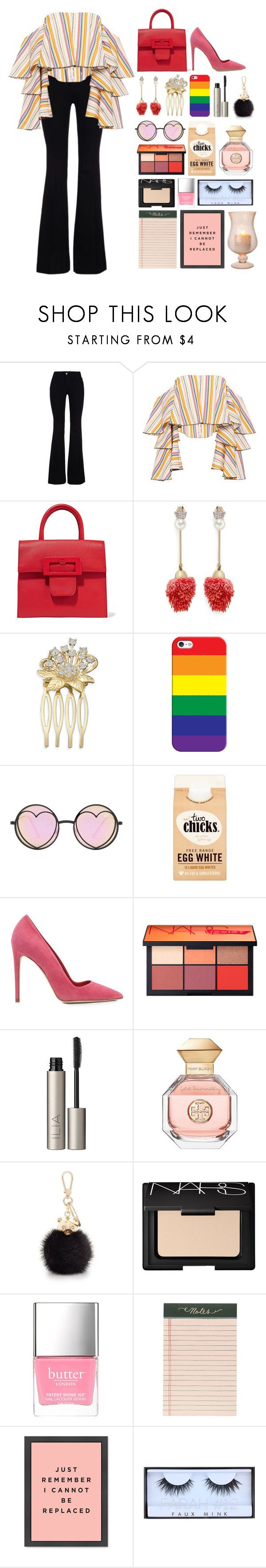 """5.552"" by katrina-yeow ❤ liked on Polyvore featuring STELLA McCARTNEY, Caroline Constas, Maison Margiela, Venna, Casetify, Betsey Johnson, Dee Keller, NARS Cosmetics, Ilia and Tory Burch"