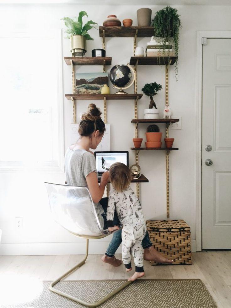 17 best ideas about shelving units on pinterest hanging. Black Bedroom Furniture Sets. Home Design Ideas