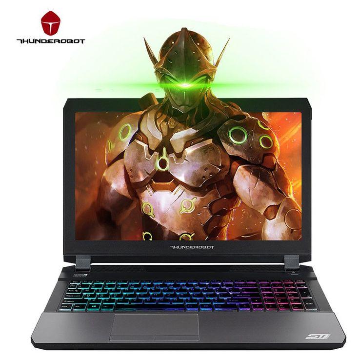 "ThundeRobot ST-Pro Gaming Laptops 15.6"" IPS FHD 1920*1080 PC Tablets GTX1060 Intel Core i7 7700HQ CPU 16GB RAM 512GB SSD Disk //Price: $1666.35//     #gadgets"