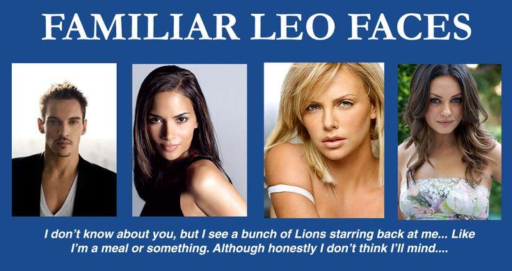 Leo faces, twarze Lwa, wygląd Lwów, słynne Lwy, #Lew, astrologia
