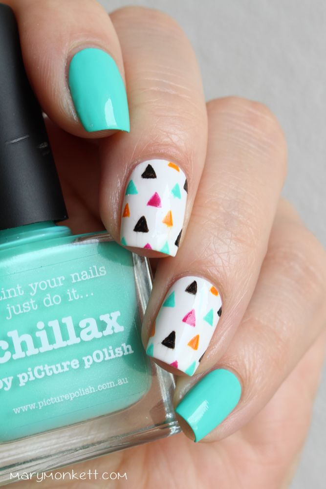Nailstorming – Vêtements de printemps