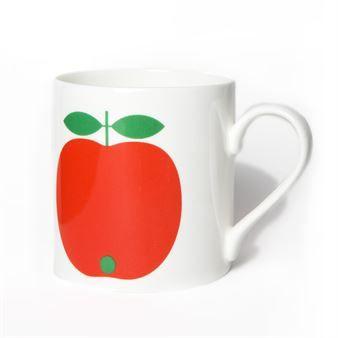 De schattige Appel mok small van het merk Koloni Stockholm is ontworpen door Lotta Külhorn. Kies uit de verschillende kleuren en fruitstukken. Combineer met de andere kleurrijke producten van Koloni Stockholm.