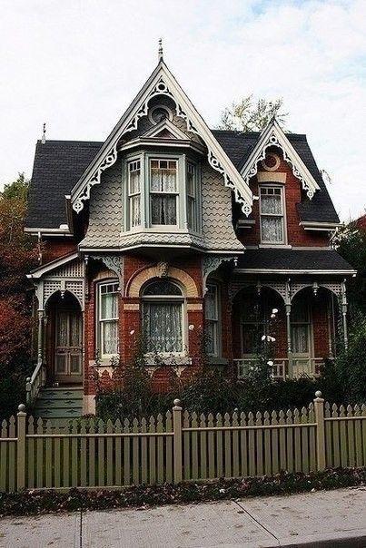 Викторианские дома | Colors.life