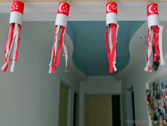 Singapore National Day Art And Craft Ideas