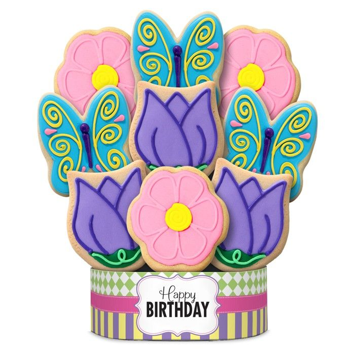 19 best Birthday Decorated Cookie BouquetsGifts images on Pinterest