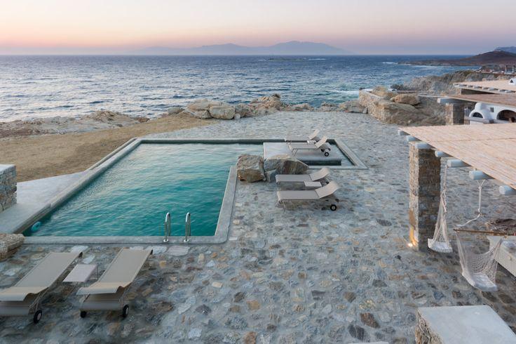 A Mykonos Villa should be up front.