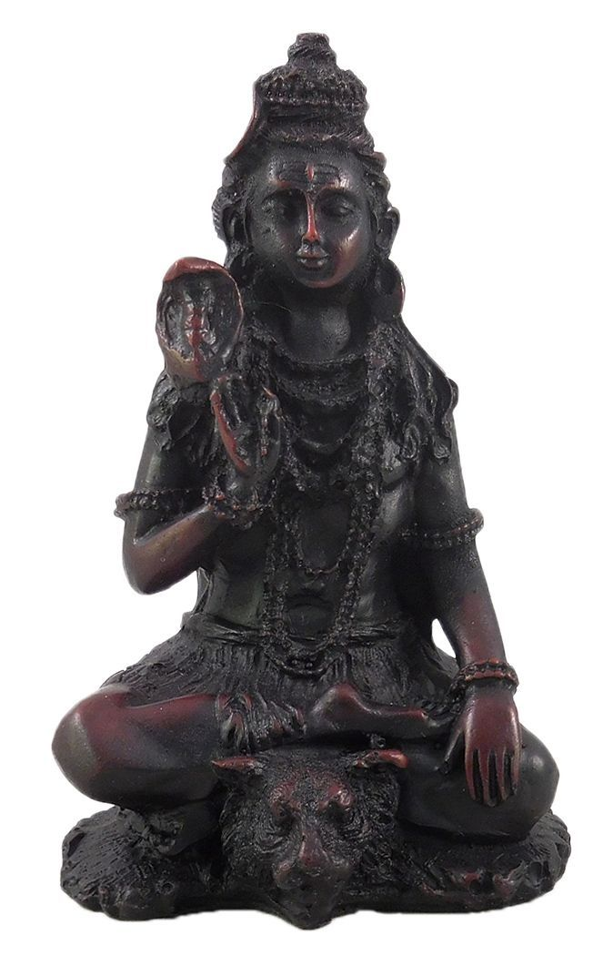 Lord Shiva - Rosewood Dust Statue (Rosewood Dust)