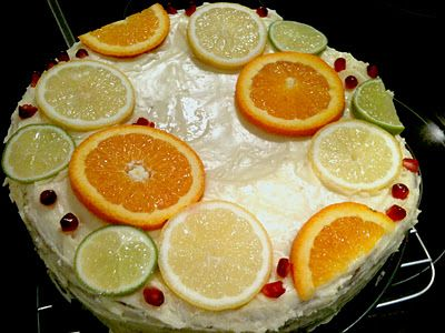 Her Worldly Pleasures: Annabel Langbein's 5 Minutes Lemon Coconut Cake