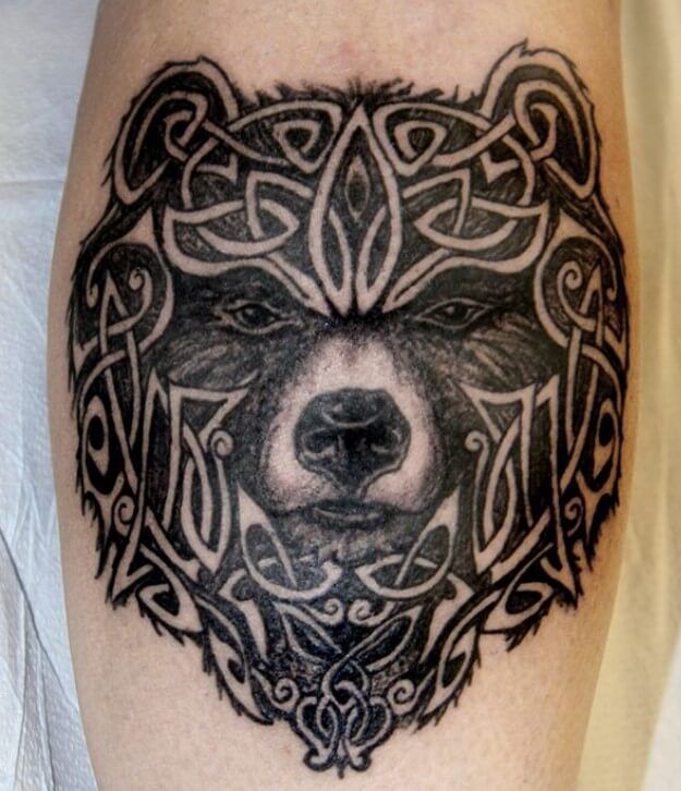10 Best Celtic Bear Tattoo Designs Petpress In 2020 Bear Tattoo Designs Pagan Tattoo Tribal Bear Tattoo