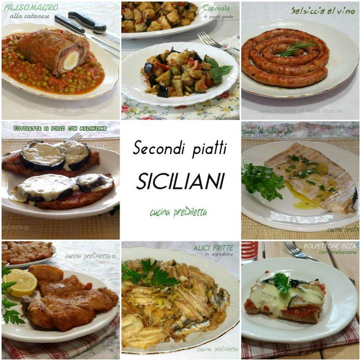 Ricette secondi piatti siciliani | le ricette di cucina preDiletta