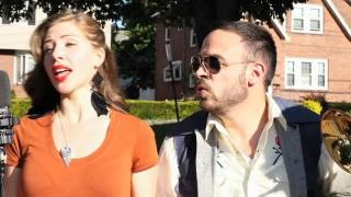 """That voice!  Lake Street Dive Plays the Jackson Five's """"I Want You Back"""" On a Boston Sidewalk, via YouTube."""