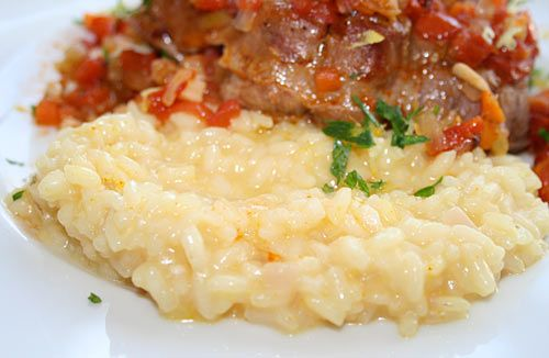Italian Food Forever » Risotto Milanese