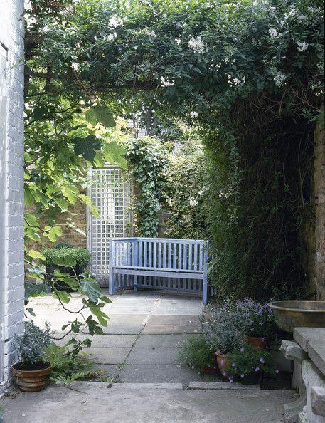 Garden bench...