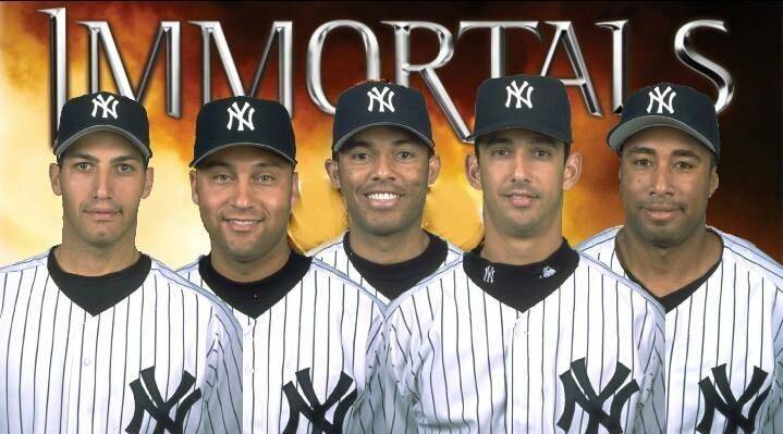 thanks for adding Bernie Williams to the Core Four, he was great too!