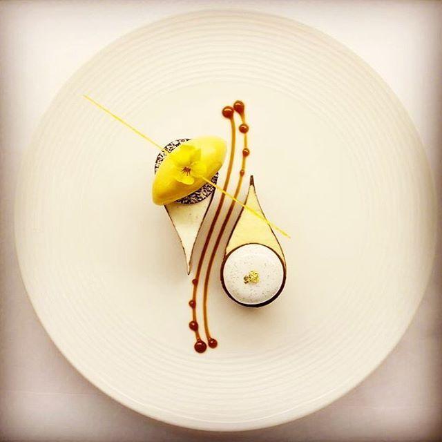 Chef Grégoire Ossiano, sublime #plating #presentation