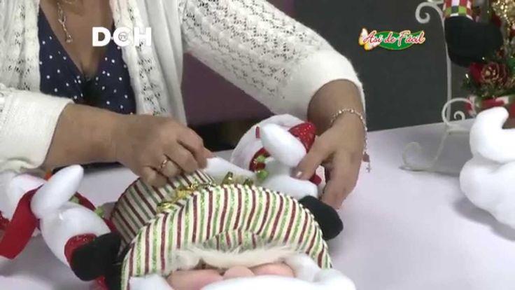 proyectos de navidad niños dulceros
