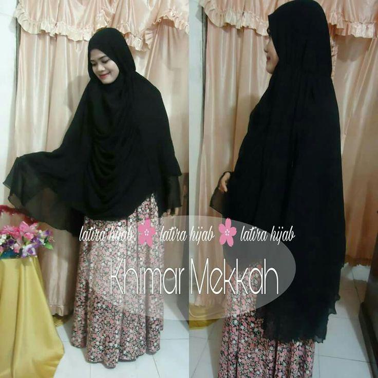 "Hijab style ""Khimar Mekkah"""