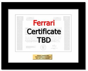 Buy Ferrari stock Gift in 2 Minutes | #1 in Single Shares of Stock