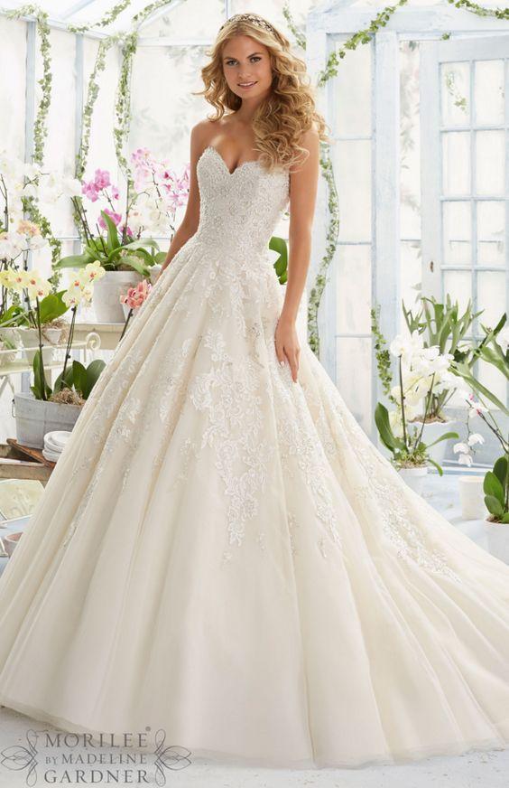 f86bc30adb Wedding Dress Inspiration | Wedding Dresses | Mori lee wedding dress, Wedding  dresses, Wedding gowns