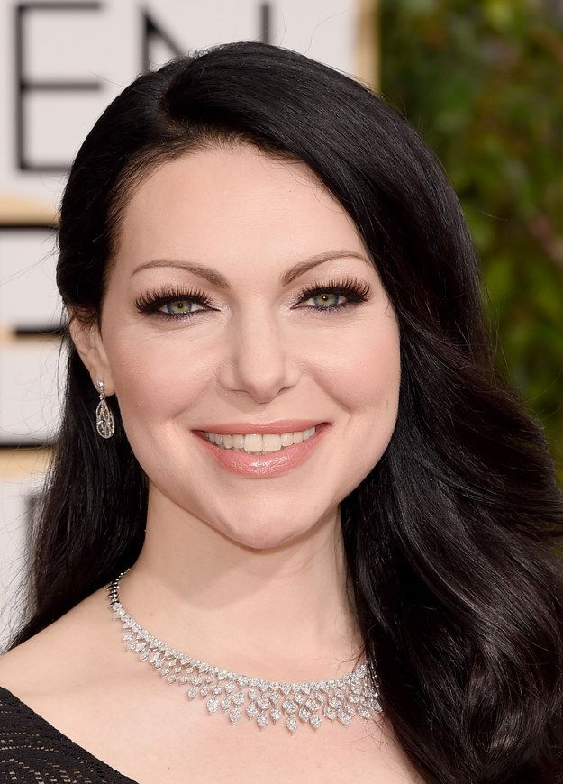 Laura Prepon's eyeliner: | 29 Winners And Losers On The Golden Globes Red Carpet