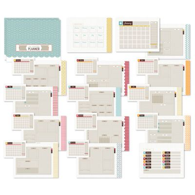 Up To Date Planner Template | Stampin' Up! - My Digital Studio Download
