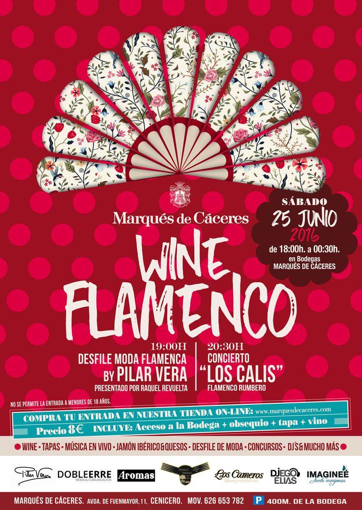 Una pareja Olé! Wine + flamenco en Marqués de Cáceres