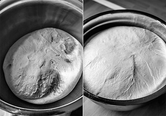 hacer pan con masa madre