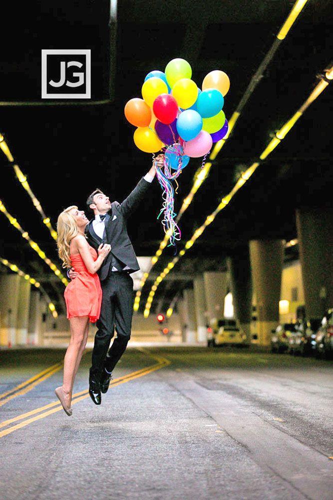 Most Creative Themed Engagement Photos ❤ See more: http://www.weddingforward.com/themed-engagement-photos/ #weddings
