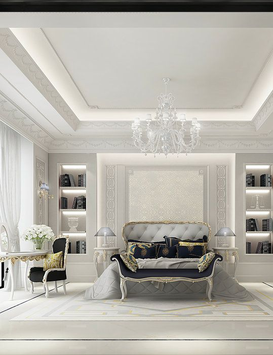 Luxury bedroom Design - IONS DESIGN www.ionsdesign.com