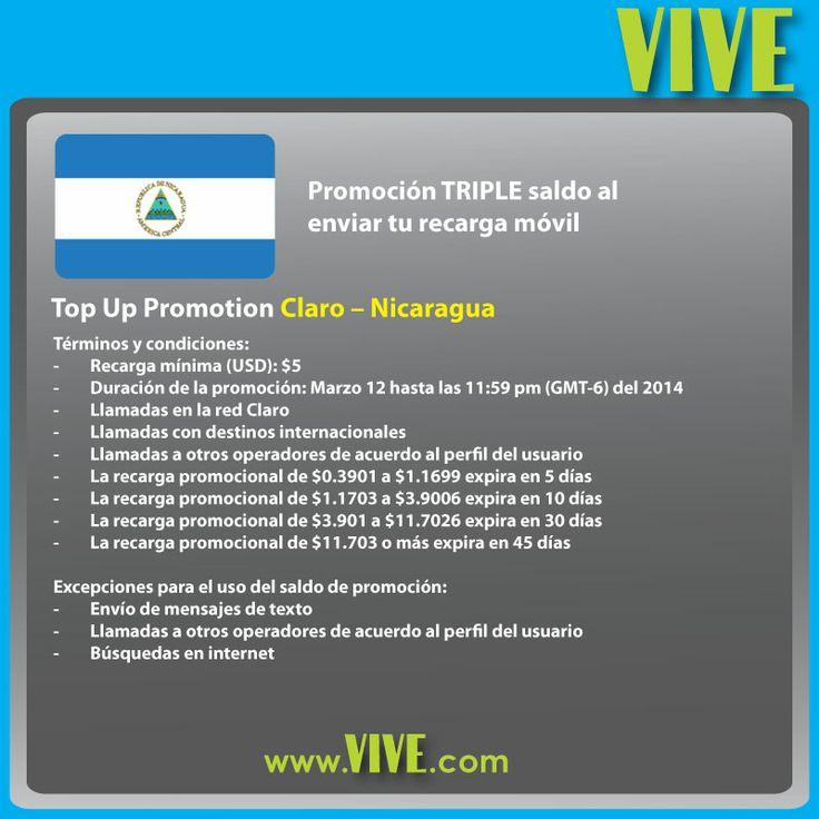 Recharge claro nicaragua