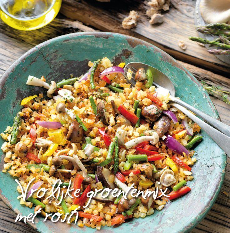 Vrolijke groentenmix met Rösti | Aviko