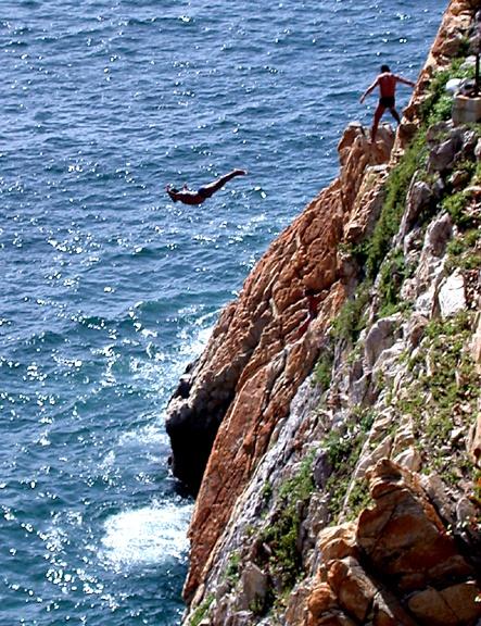 Acapulco mi bello puerto de acapulco pinterest - The cliff dive ...