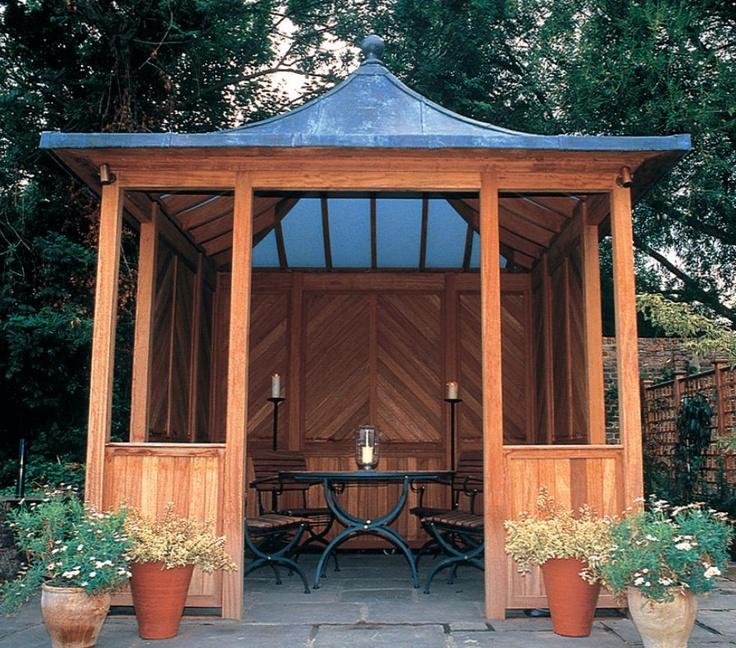 Stuart Garden Architecture Summer House