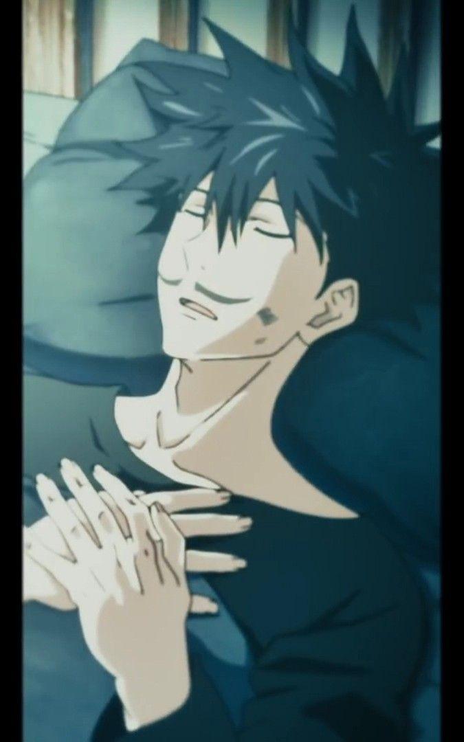 Fushiguro Megumi Sleeping In 2021 Anime Jujutsu Anime Art