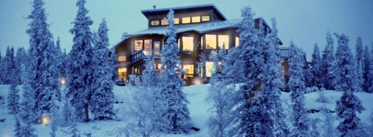 Blachford Lake Lodge | Idea for Christmas one year.