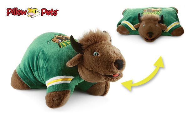 Ndsu Bison Pillow Pet Bison Pride Pinterest Awesome
