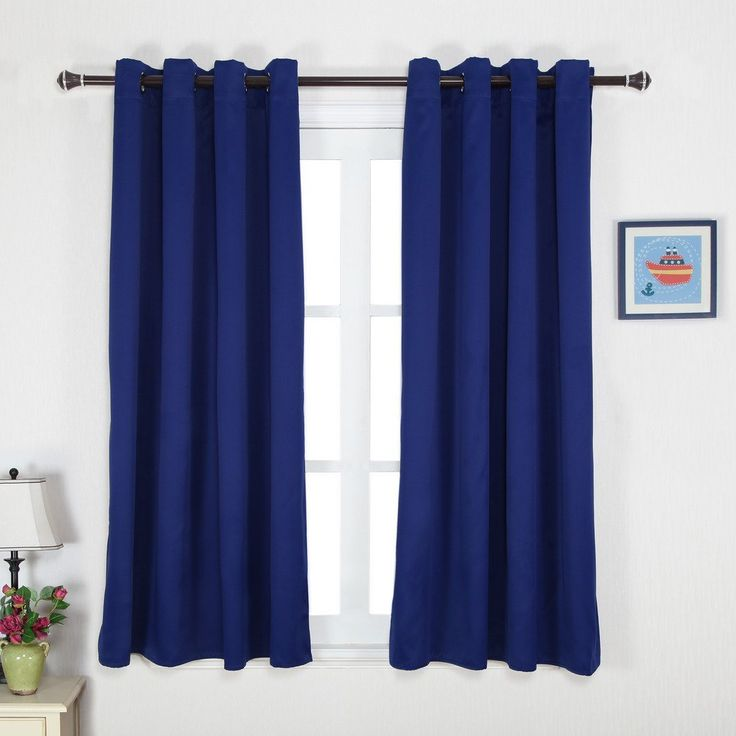 ... Blackout Curtains / Drapes for Kid's Room (1 Pair, 52 x 63 Inch in