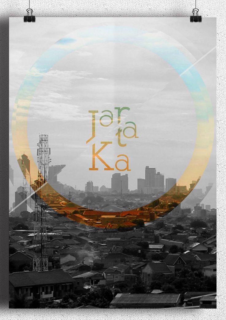 J A K A R T A  Foto : Aditya Hans Pradipta Design : Bilal Ali Maghshar  Jakarta bisa di ibaratkan kue donat,, bila malam hari, kosong di daerah tengahnya