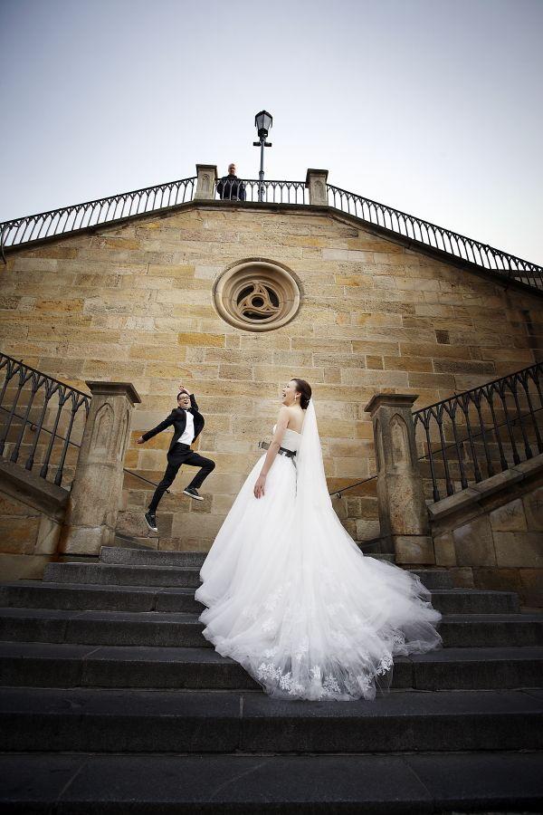 Wedding photography Prague - Pre-wedding photos in Prague