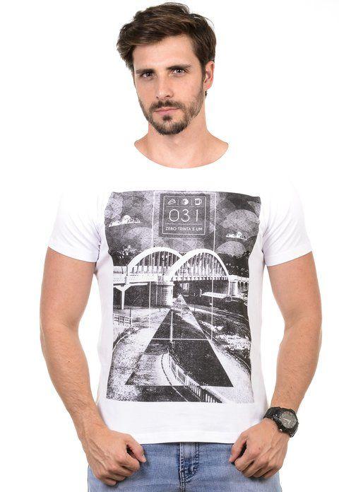 Camiseta Masculina Zero Trinta e Um