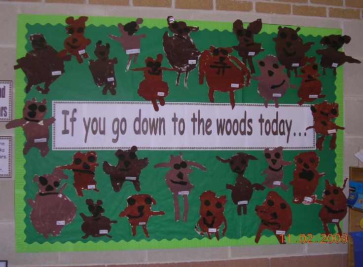 Bear paintings classroom display photo - Photo gallery - SparkleBox