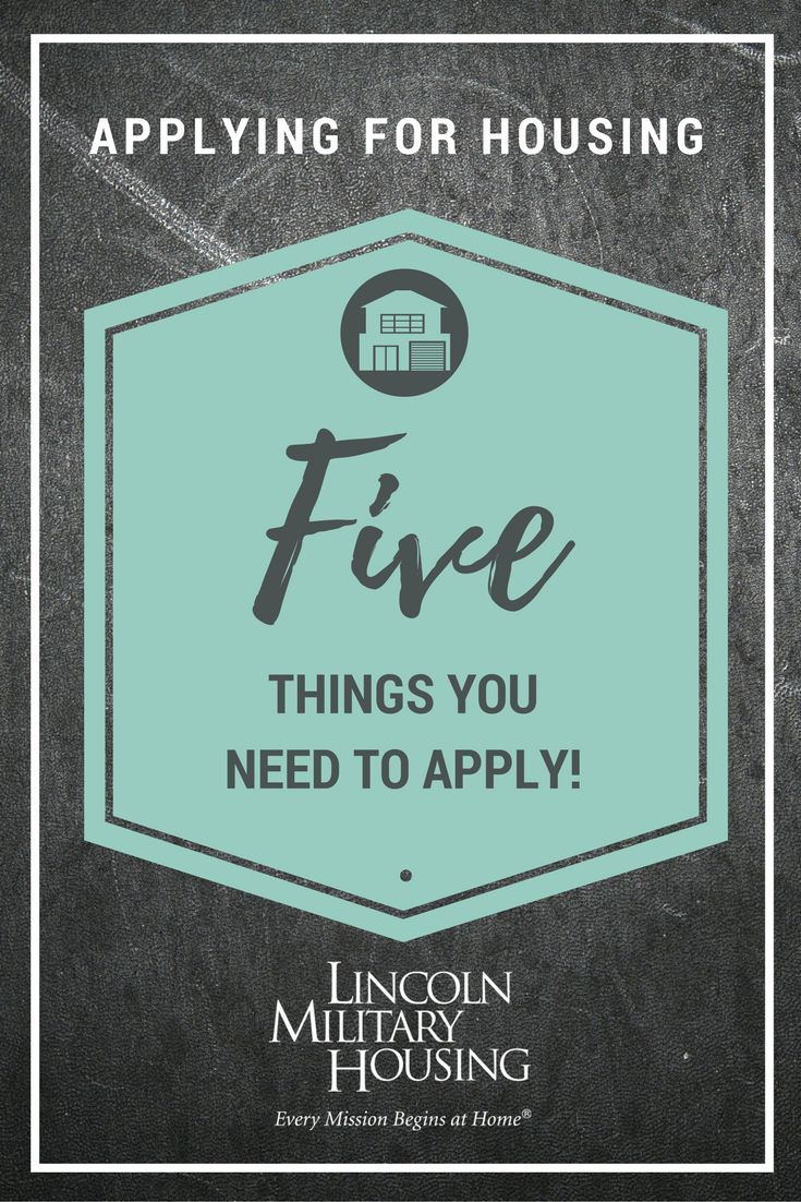 Check out our new goods & get inspired for Spring! Finding the right home when PCSing can be a challenge. Learn more about what Lincoln Military Housing has to offer and how we can make this process easier. Here are the five things you need to apply for a rental home at your next installation.