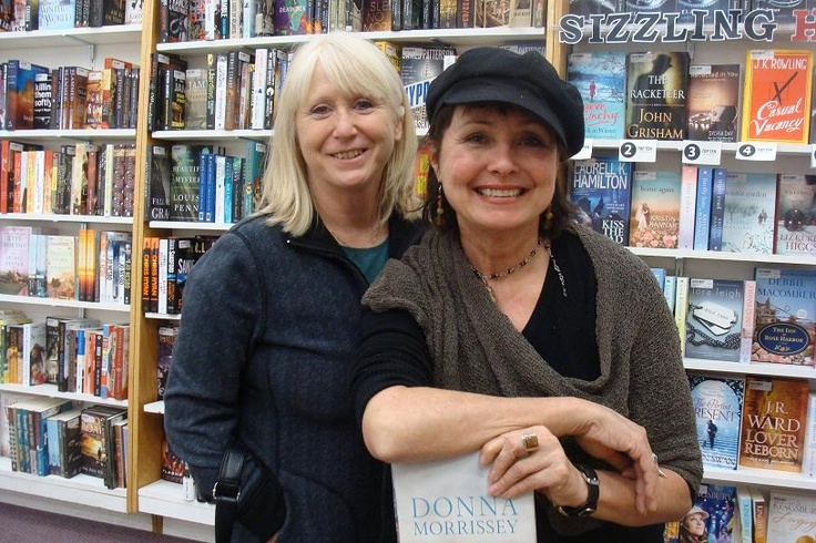 """I met Donna Morrissey at The Inside Story in Greenwood when she came to sign copies of her new book, """"The Deception of Livvy Higgs."""". It was a real highlight for me!"""