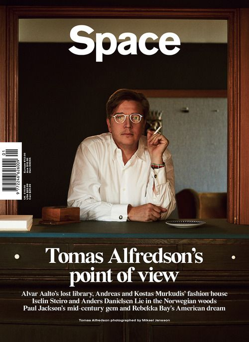 Tomas Alfredson by Mikael Jansson, Space magazine
