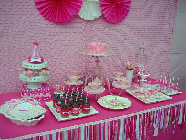 Chandelier as serving platter... seriously?!? Why can I NEVER think of these things?? (P.S.- is this not the cutest little girls birthday party dessert table ever?!)