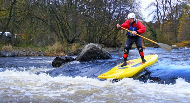 Walk on water in the scenic Welsh valleys with a stand up paddle board session on flat or white water. Save up to 52% experiencing the fastest growing water sport worldwide