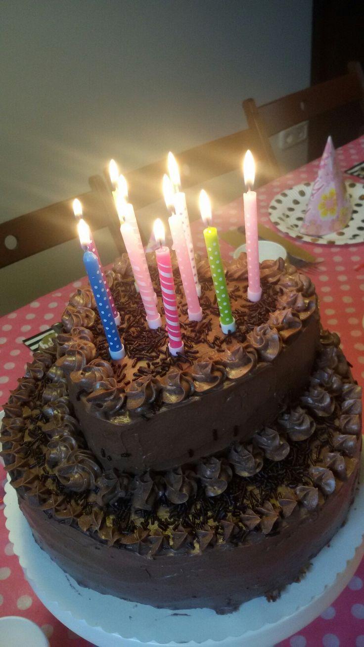Very-very chocolate cake